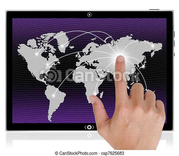 ordinateur pc, tablette - csp7625683