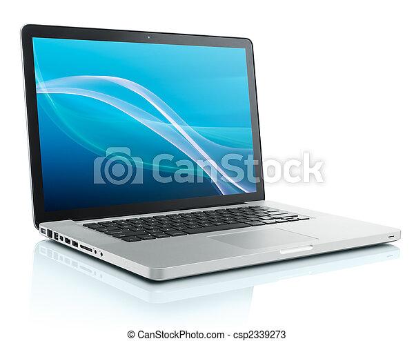 ordinateur portatif - csp2339273