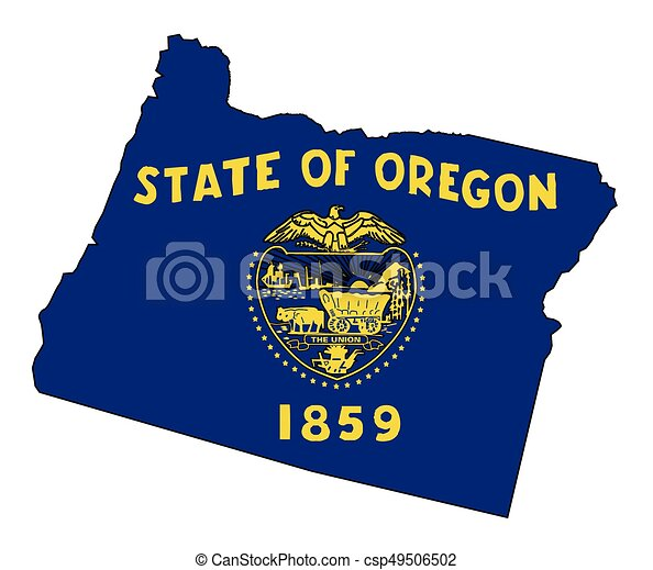 Usa Map Of Oregon State Description Oregon Airports Map Showing - Usa map oregon state