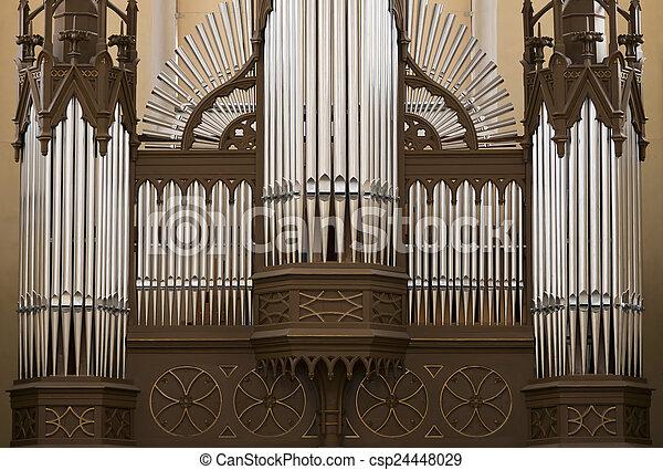 organ pipes - csp24448029