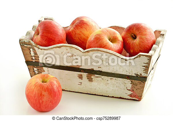 Organic Autumn Glory apples - csp75289987