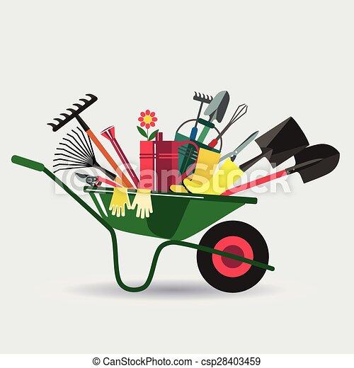 Organic farming. - csp28403459