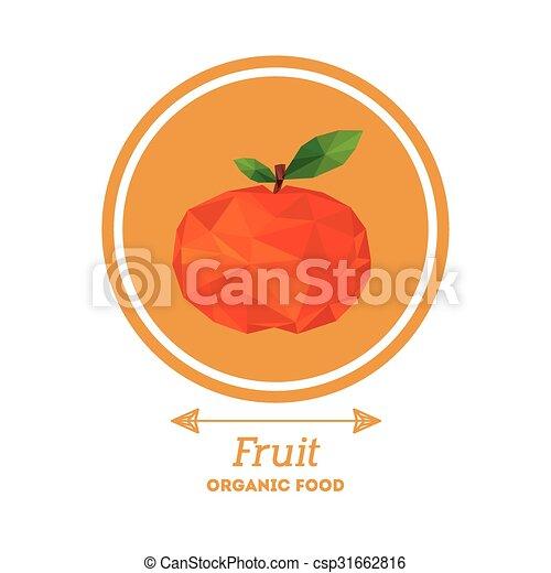 organic food design  - csp31662816