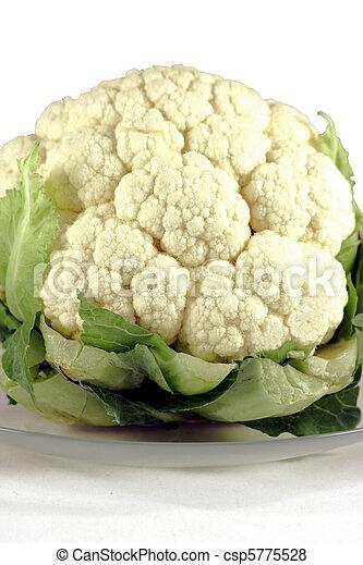 organic fresh coliflower - csp5775528