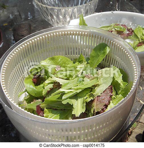 Organic Salad - csp0014175