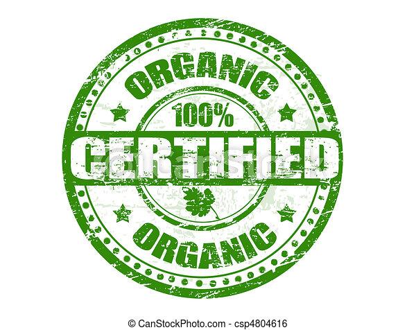 Organic stamp - csp4804616