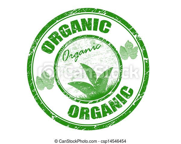 Organic stamp - csp14546454