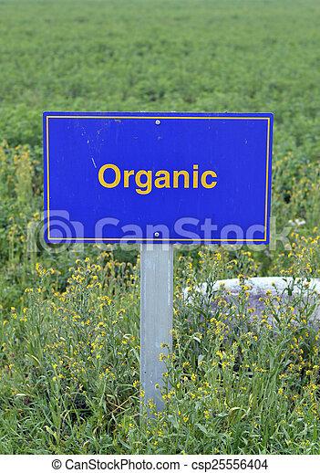organický, strava. - csp25556404