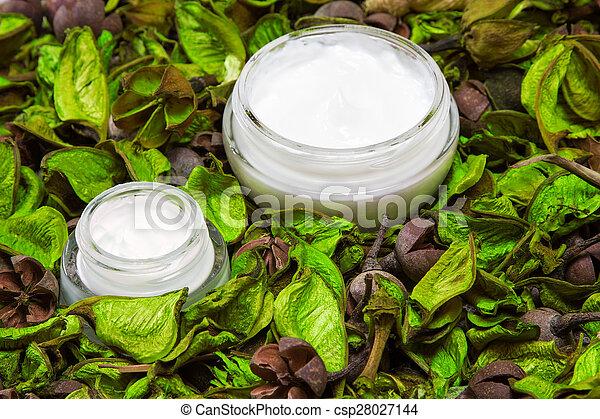 organique, peau, produits, soin - csp28027144