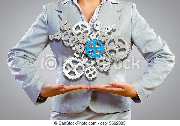 Organización de negocios - csp15662305