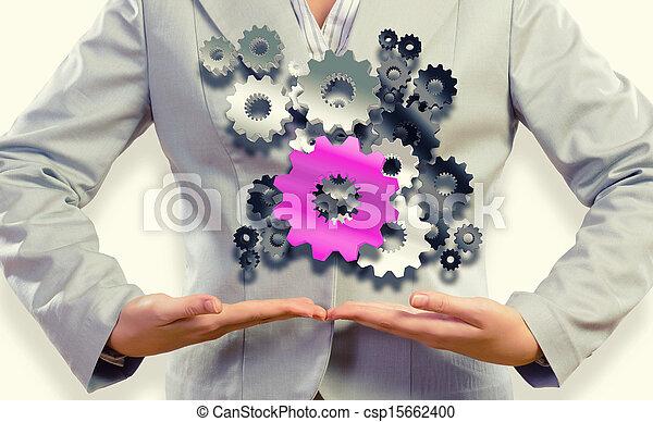 Organización de negocios - csp15662400