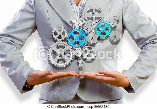 Organización de negocios - csp15662430