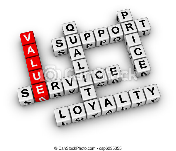 Organización de negocios - csp6235355