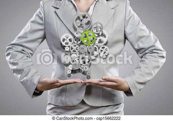 Organización de negocios - csp15662222