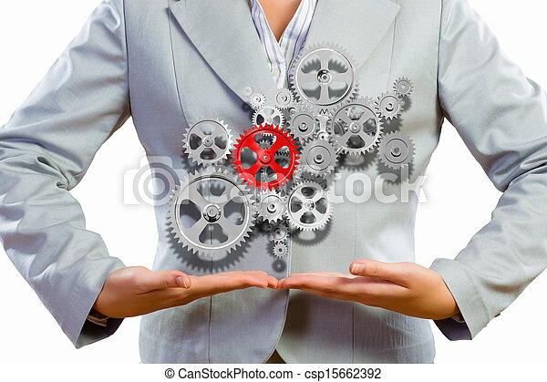 Organización de negocios - csp15662392