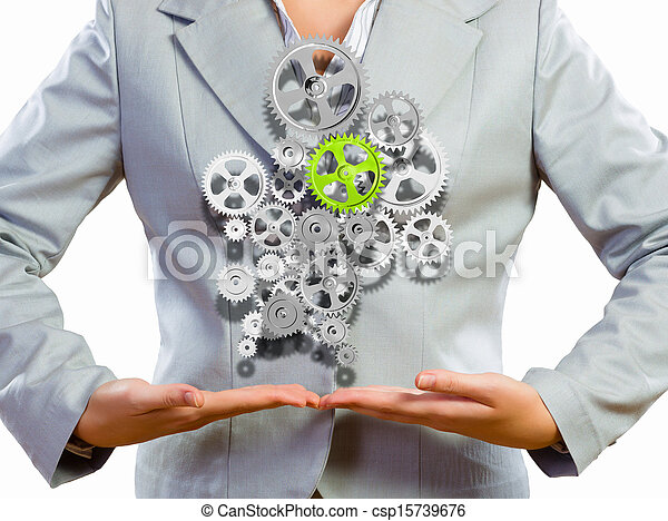 Organización de negocios - csp15739676