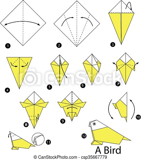 Step By Step Instructions How Make Stock Vector (Royalty Free) 562827631   470x411