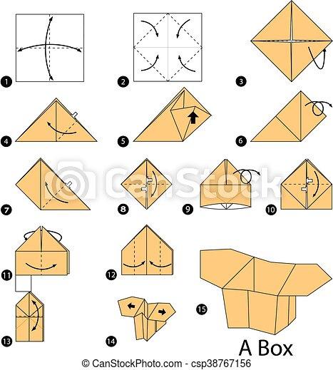 Origami Box   470x420