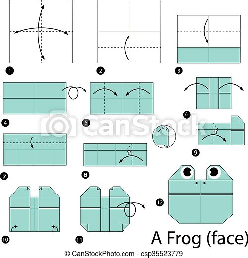 Make an origami frog that really jumps! - It's Always Autumn | 470x450