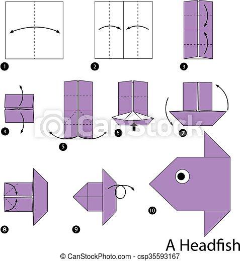 Origami Fish Base | 470x429