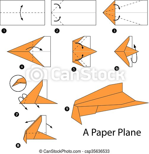 How to Make a Paper Airplane That Does Loop De Loops: 7 Steps | 467x450