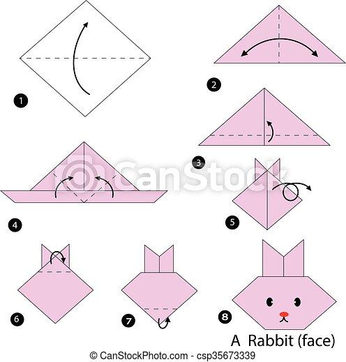 Japanese Traditional Origami BALLOON BUNNY - YouTube | 470x446