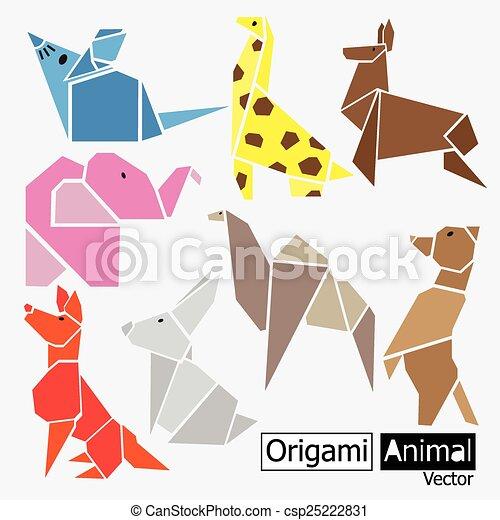 Origami Animal Design Art