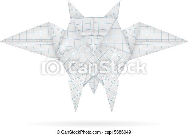 Buho origami - csp15686049