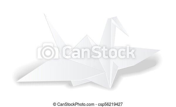 Origami Crane Bird   279x450