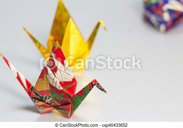 Origami Cranes And Paper Balloon Origami Cranes And A Balloon Made
