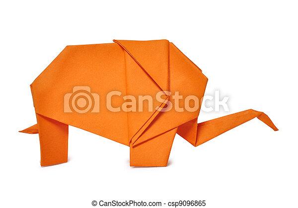 origami elephant - csp9096865