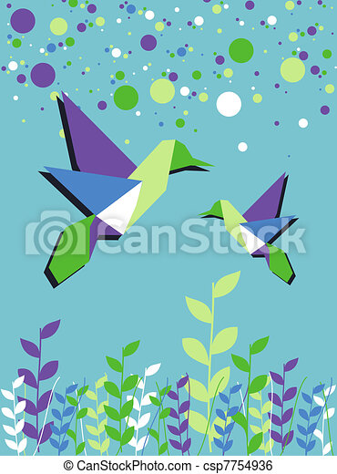 Origami Hummingbird   Gina Julian   470x333
