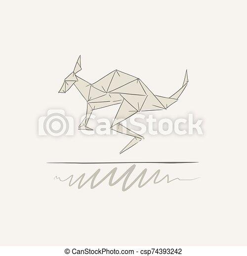 origami kangaroo | Origami paper, Dollar bill origami, Origami animals | 470x450