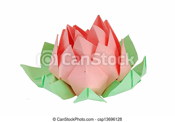 Origami lotus flower origami lotus flower csp13696128 mightylinksfo