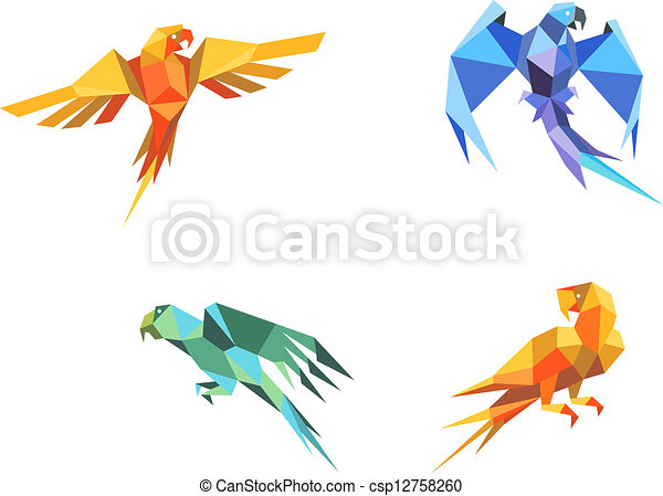 How to Make an Easy Origami Parrot | 342x450