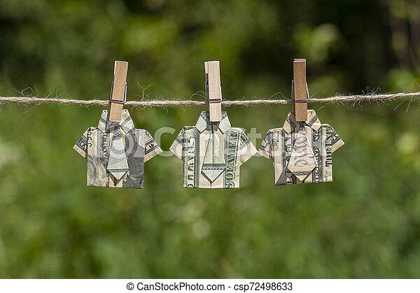 Money Shirt - Make-Origami.com | 320x450