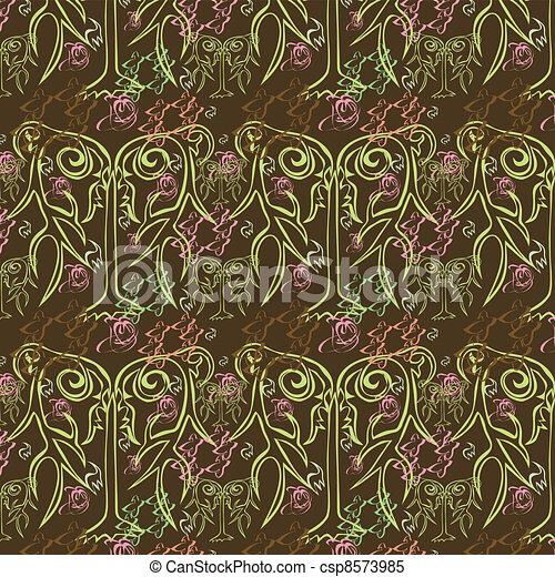 Original abstract seamless backgrou - csp8573985