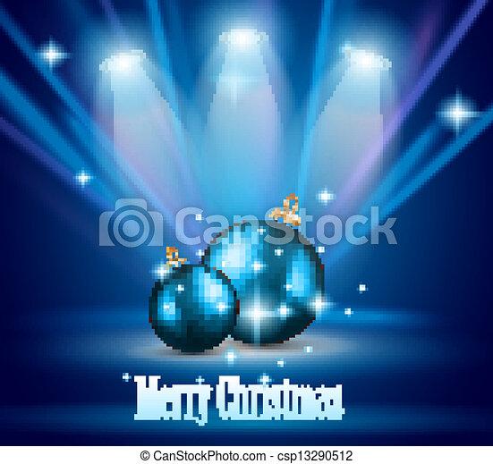 Original Christmas Background  - csp13290512