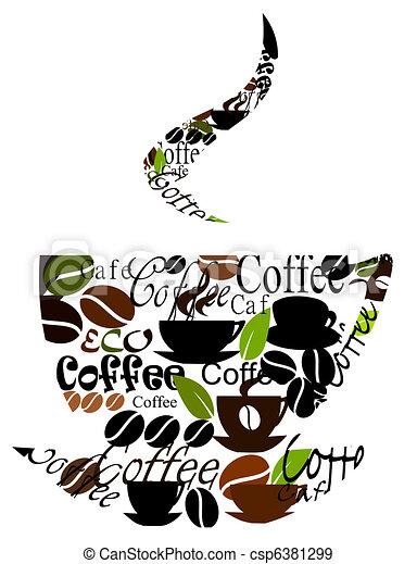 Original coffee cup design - csp6381299