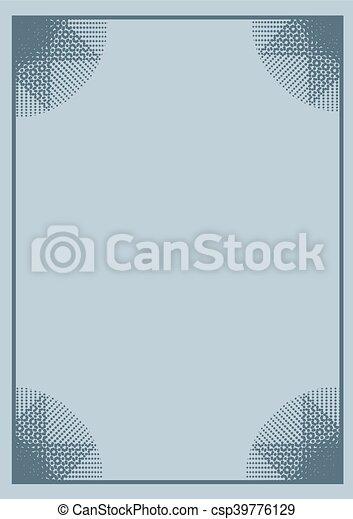 original frame background - csp39776129