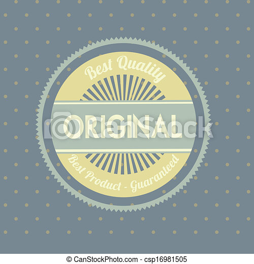 original seal  - csp16981505