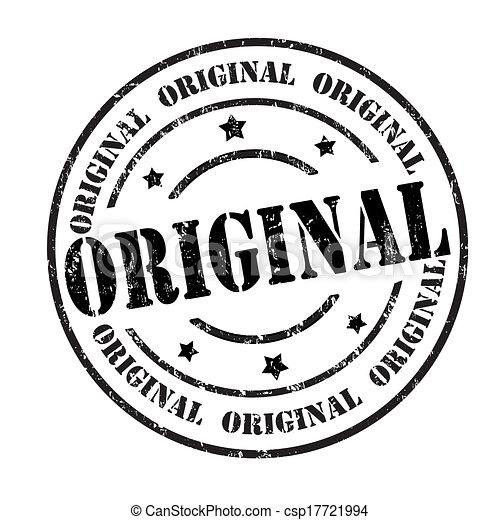 a20c6e44b5bd Original stamp. Original grunge rubber stamp on white, vector ...
