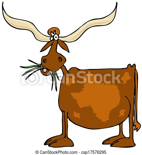 original texas longhorn this illustration depicts a cow stock rh canstockphoto com texas longhorn cattle clipart texas longhorns logo clipart