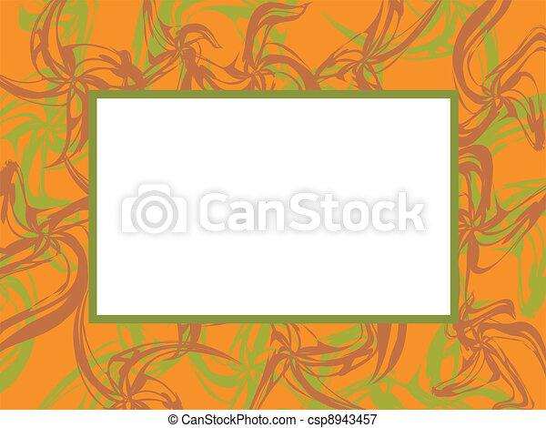 Original vector frame - csp8943457