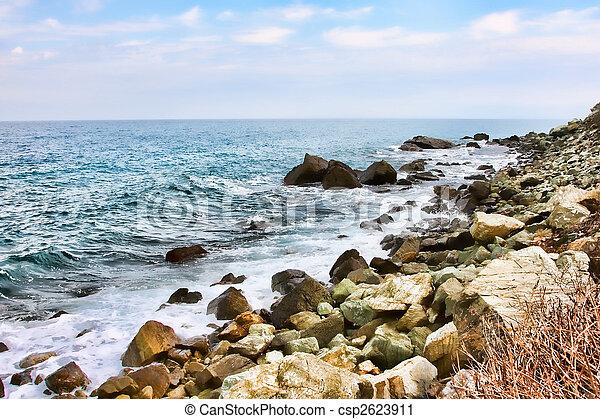 Kokkino Nerón Shore - csp2623911