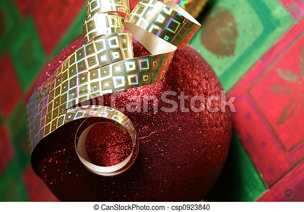 Ornament and Ball - csp0923840