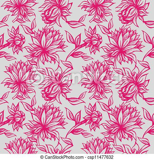 ornament, floral - csp11477632