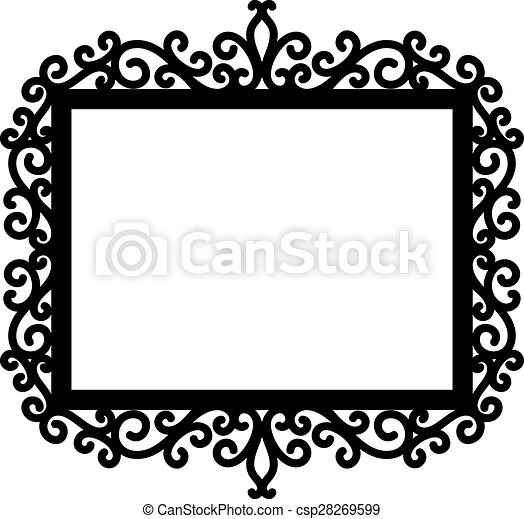 ornamental frame - csp28269599