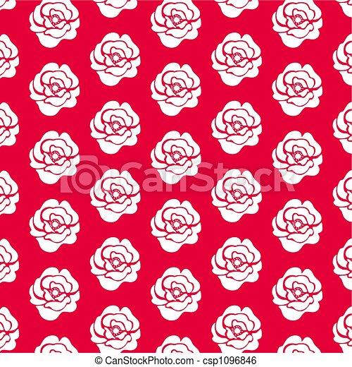 ornamental rose - csp1096846