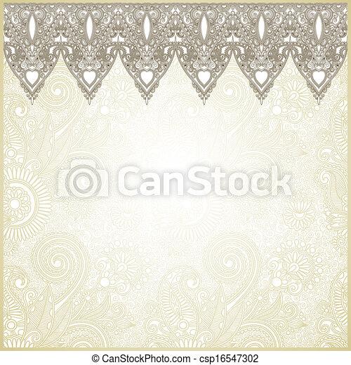 Ornamental seamless stripe - csp16547302